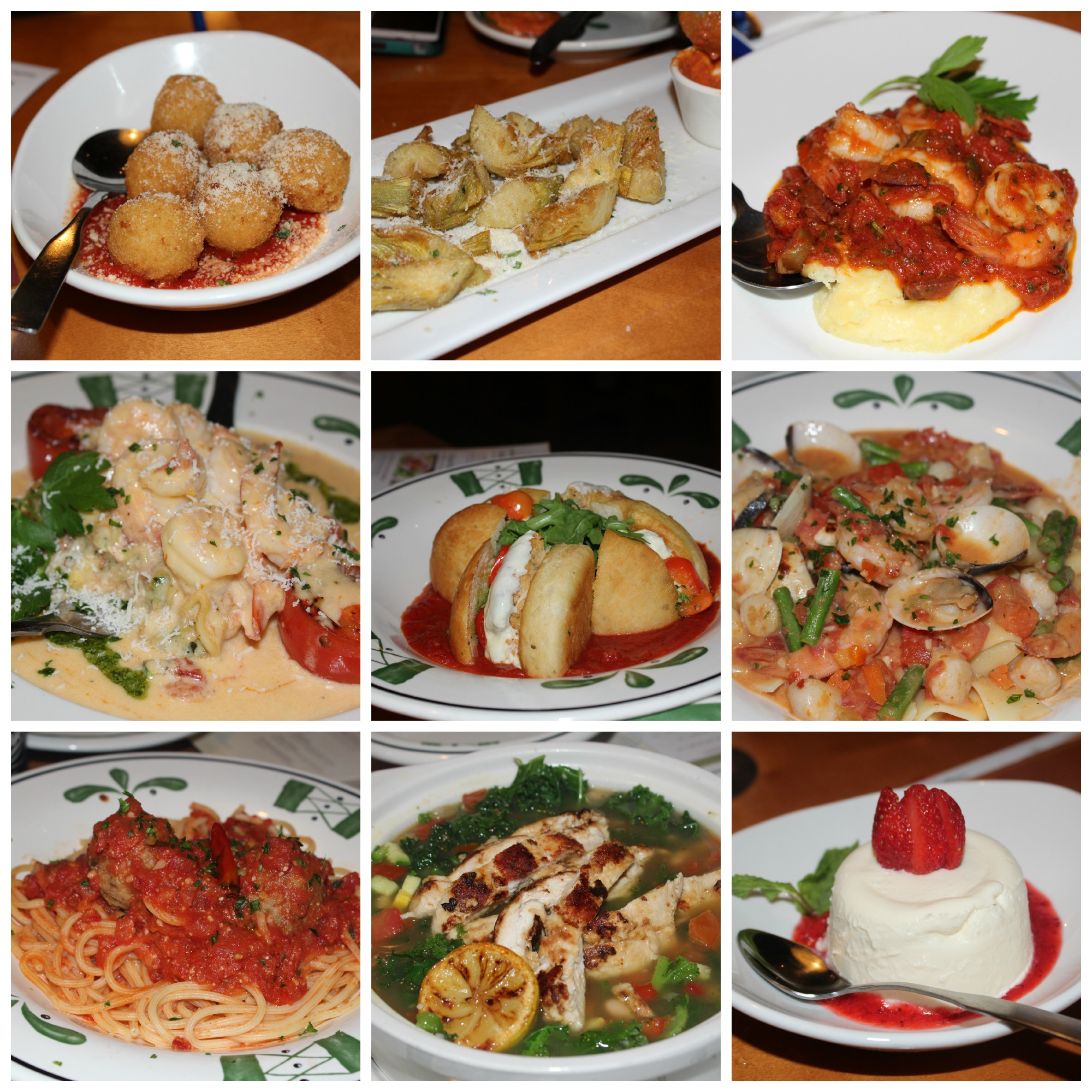 My New Faves from Olive Garden | The Great Dana J