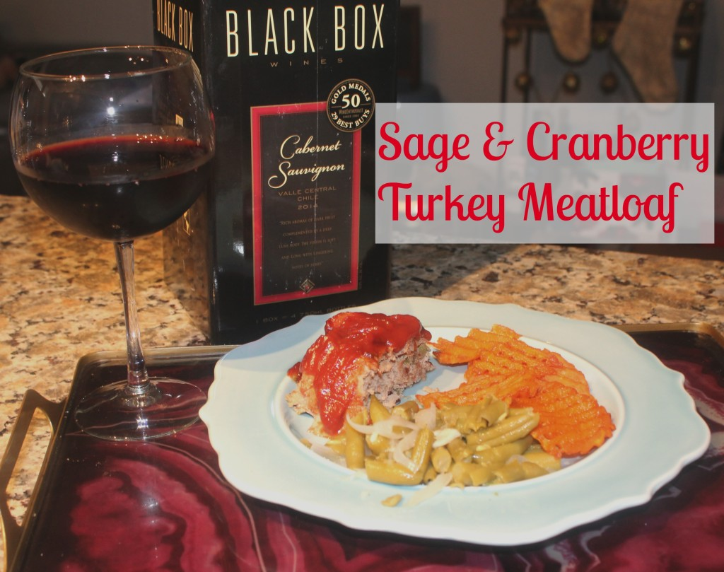 Sage & Cranberry Turkey Meatloaf